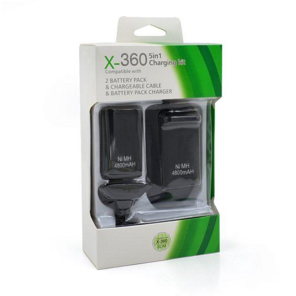 5 az 1-ben töltő X-box 360-hoz