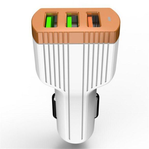 LDINO 3 USB Autós Töltő C702