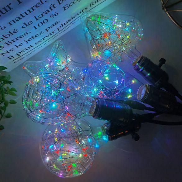 Szines LED izzó Glass-D
