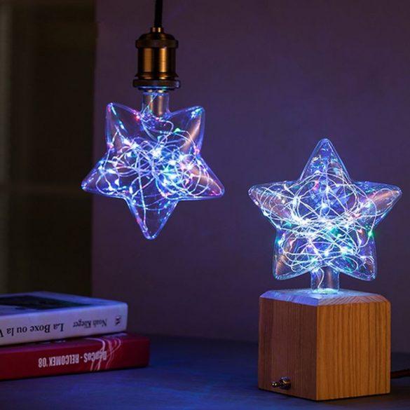 Szines LED izzó Glass-F