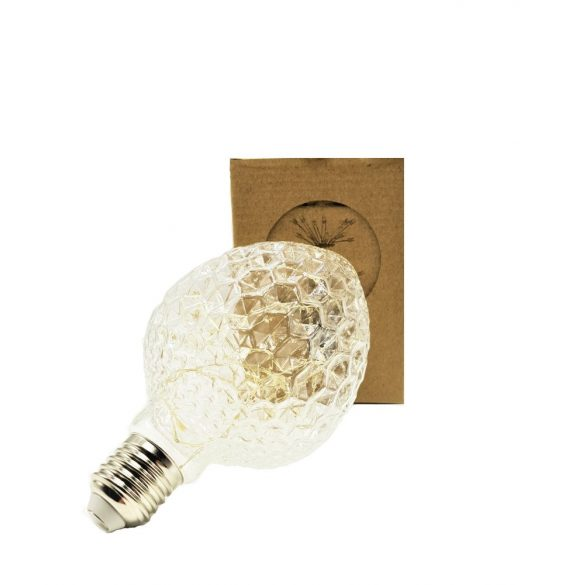 Szines LED izzó Glass-PN