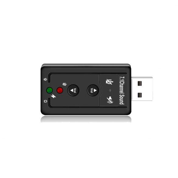 USB hang kártya