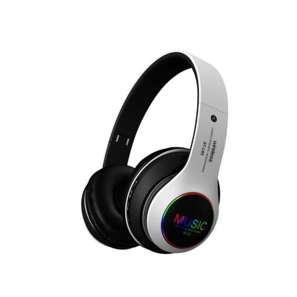 Villogós Bluetooth fejhallgató