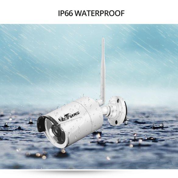 Biztonsági IP 8 Kamerás Rendszer Cam-1021
