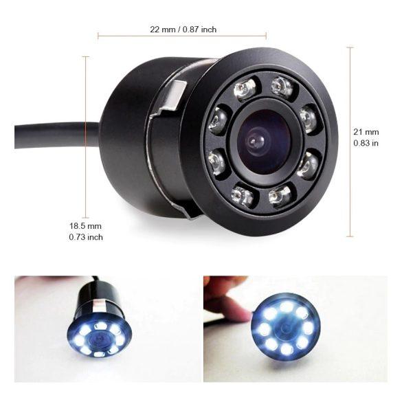 Autós video parkoló radar szett