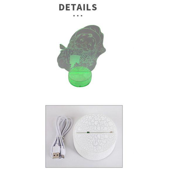 3D LED Éjszakai fény 1126