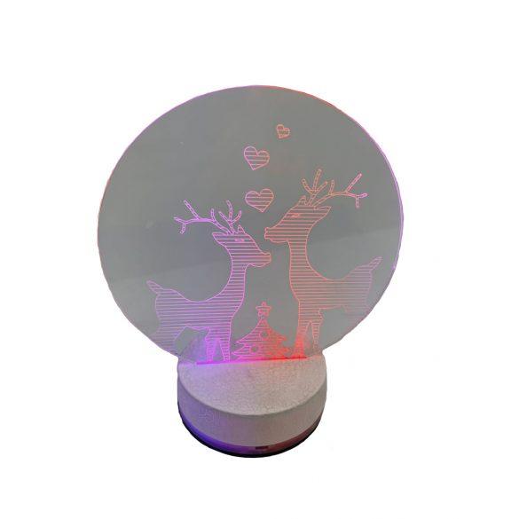 3D LED Éjszakai fény 1130