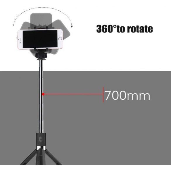 Bluetooth tripod (selfie bót)