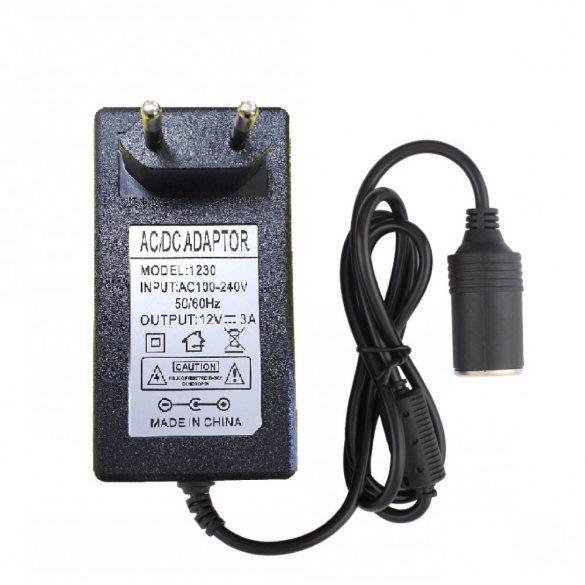 Szivargyújtó átalakító hálózati adapter