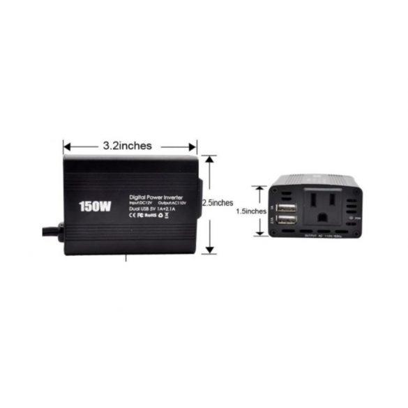 150W Digitális inverter
