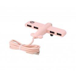Repülő alakú USB elosztó