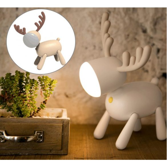 Deer Éjjeli lámpa