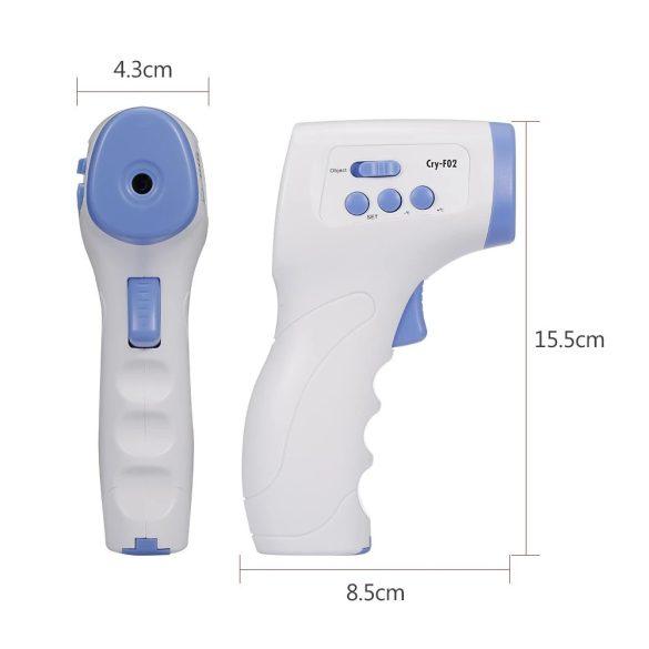 Infravörös hőmérő