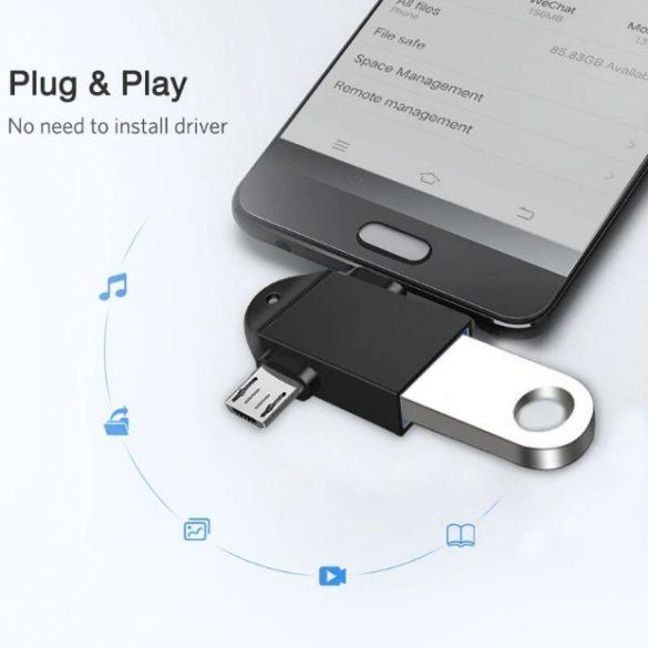 MICRO-USB TYPE-C USB3.0 OTG