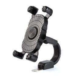 Motorkerékpáros telefon tartó
