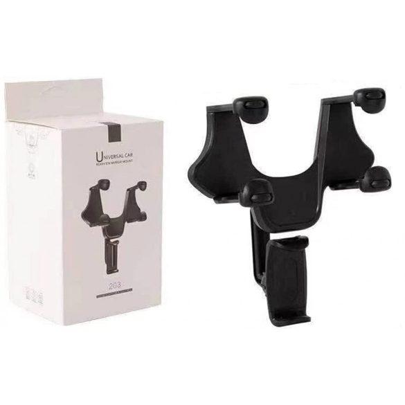 Autós mobiltartó tükörre