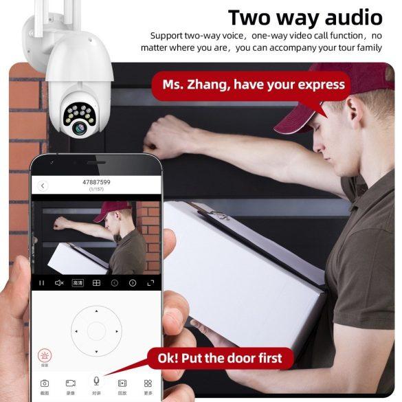 Kültéri Vezeték Nélküli IP Kamera