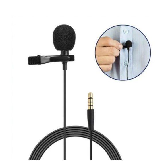 Csiptetős mikrofon 3.5mm