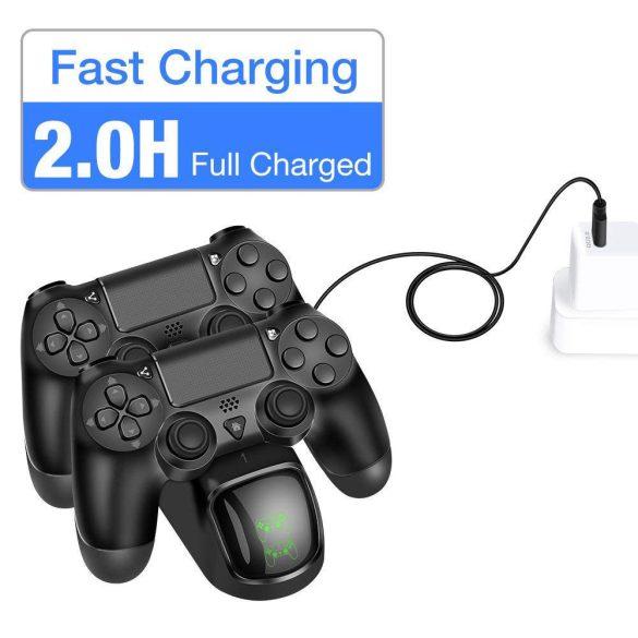 Vezetékes töltő dokkoló PS4-hez