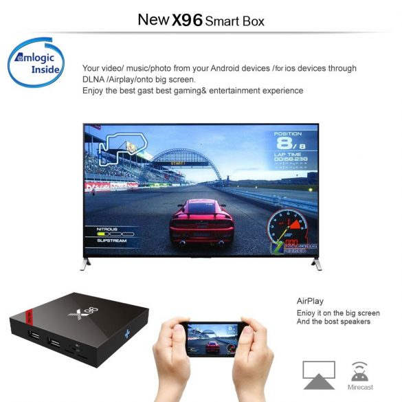 Android TV BOX X96